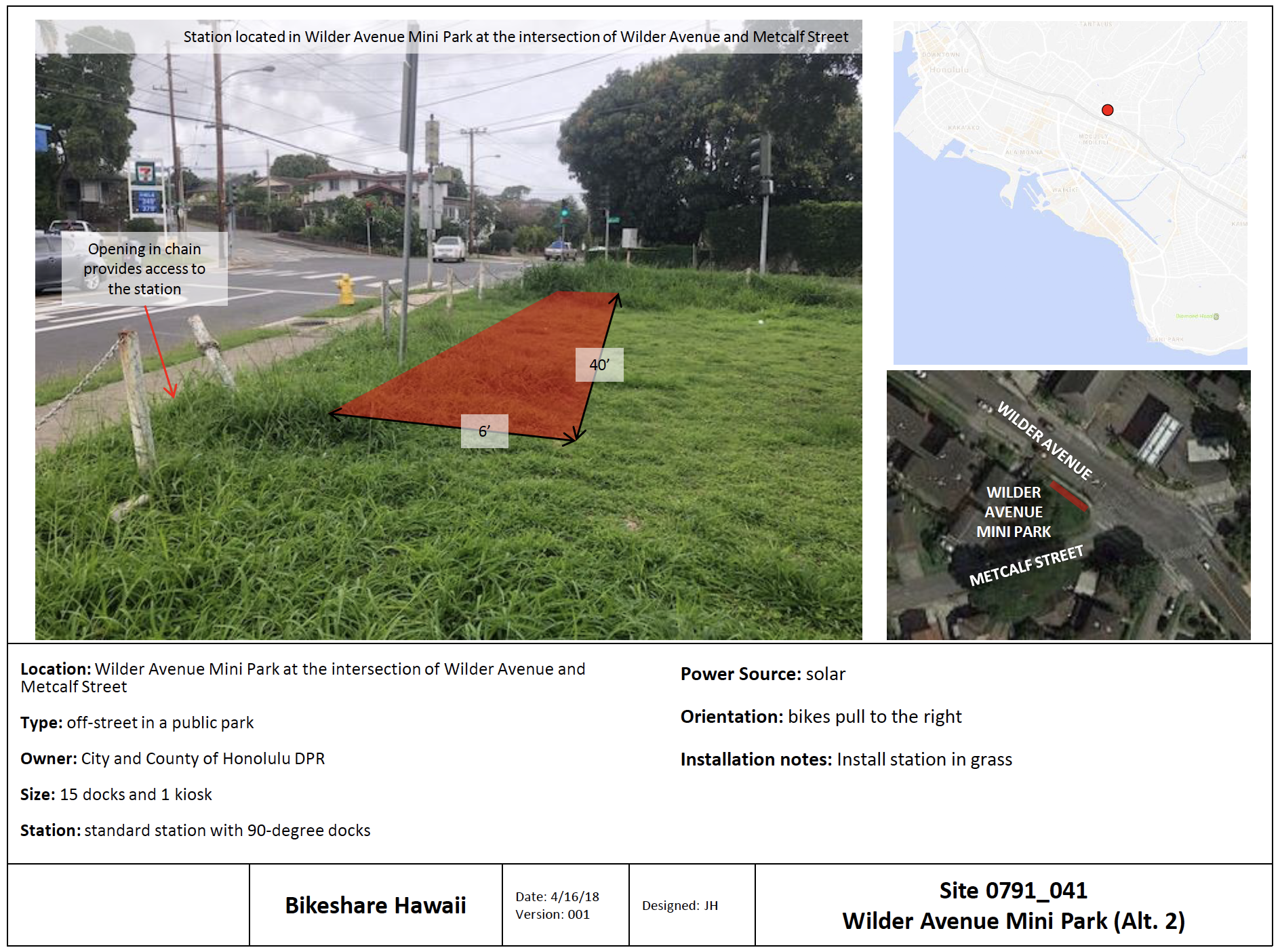 Potential Makiki Expansion Site