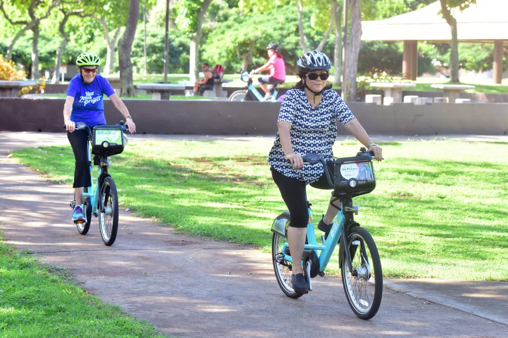 Biki Social Rides, offered to residents aged 50+, included a guided group ride, healthy lunch and a trial membership!