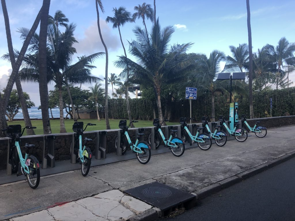 Biki Stop #529 Relocated to Leahi Beach Park