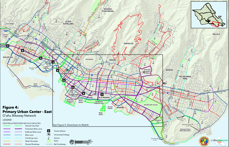 "Check Out the ""Oahu Bike Plan Draft"" for Proposed Bikeways"