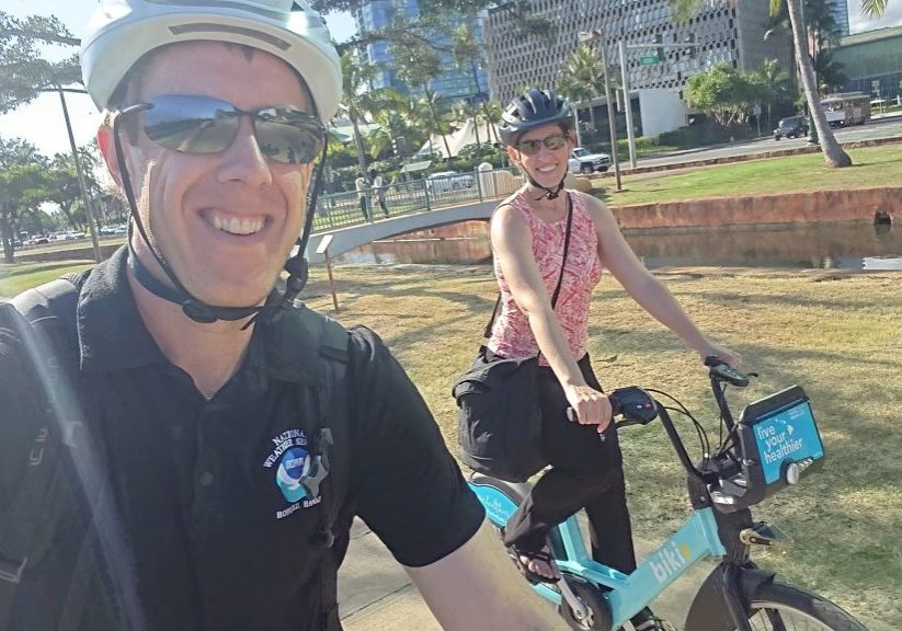 1 Biking back from Mayor's bike month proclamation signing (1)