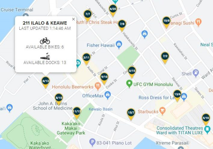 Entrepreneurs Sandbox is located right by Biki Stop #211 on Ilalo Street