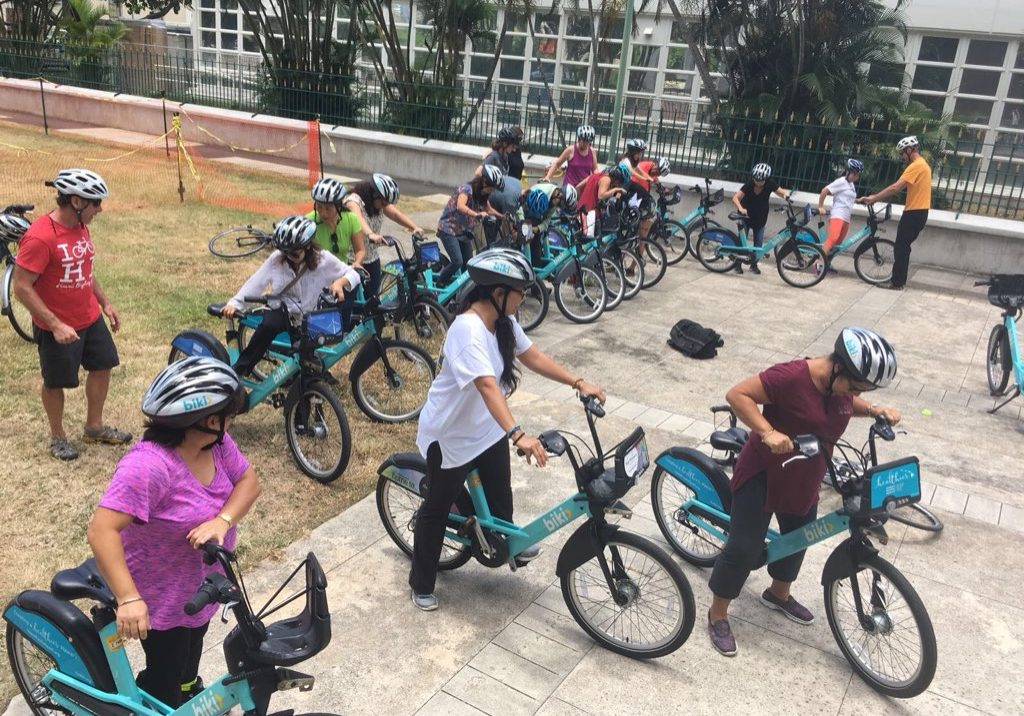 Biki workshop with Hawaii Bicycling League