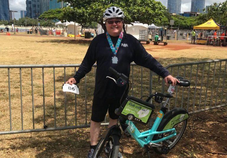 Honolulu Triathlon, May 13, 2018 - Photo courtesy of Richard Campbell