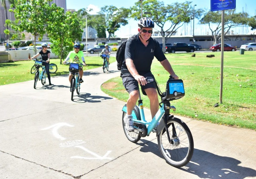 Biki Social Rides Program for residents 50+