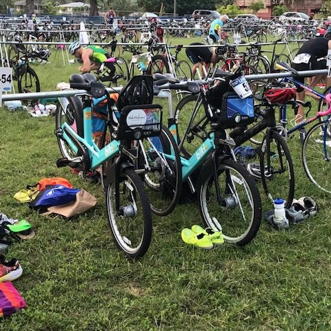 Lanikai Triathlon, April 15, 2018 - Photo courtesy of Lori McCarney